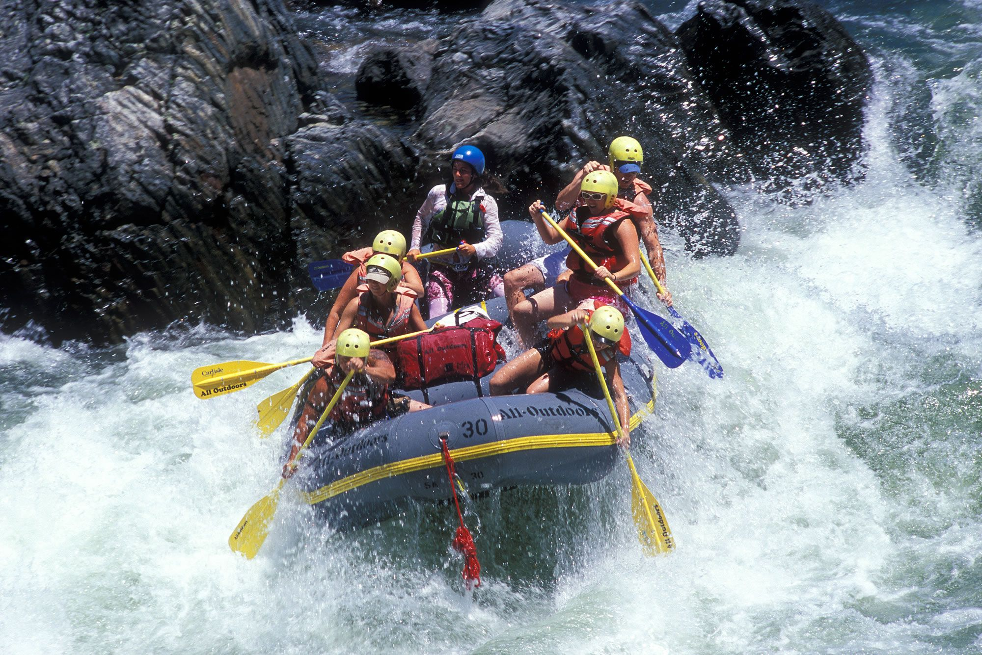 Rafting Adventure in Rishikesh